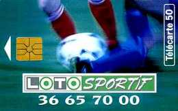 Télécarte 50 : Loto Sportif - Jeux