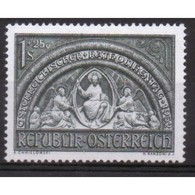 Austria Stamp Issued To Celebrate Austrian Catholics Day.   This Stamp Is In Mounted Mint Condition. - 1945-60 Unused Stamps