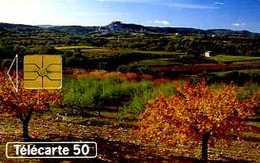 Télécarte 50 : Au Fil Des Saisons - Paysages