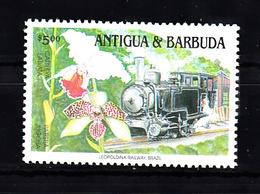 Train, Eisenbahn, Railway: Antigua + Barbuda 1991 Mi Nr 1472 Postfris - Treinen
