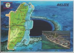 AK Map Belize - Zentralamerika - Belize