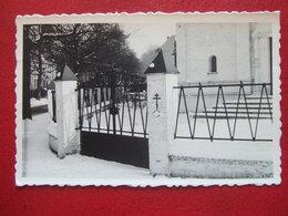 "BELGIQUE - UCCLE- UKKEL  - CARTE PHOTO -  "" Entree De L' EGLISE ORTHODOXE RUSSE  ""  - RARE "" - Uccle - Ukkel"