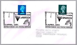56th Aniv. SACHSENHAUSEN TODESMARSCH - 56 Años Evacuacion Campo Concentracion. BFPS 2001 - Judaísmo