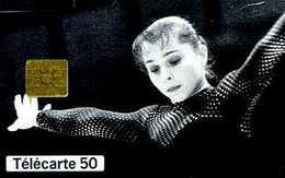 Télécarte 50 : Fondation France Telecom Ludivine Gymnaste - Sport