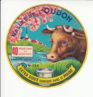 Etiquette De Fromage - Vallée De L'Oudon - Mayenne. - Fromage
