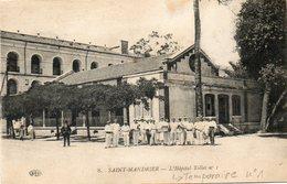 CPA - SAINT-MANDRIER (83) - Aspect De L'Hôpital Temporaire N°1 En 1917 - Saint-Mandrier-sur-Mer