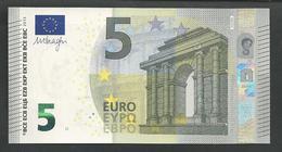 "Greece New Printer Y005B5 !! ""Y"" 5 EURO GEM UNC! Draghi Signature! - EURO"