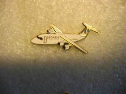 Pin's De La SABENA,( Societé Anonyme Belge D'Exploitation De La Navigation Aérienne). Avion - Luftfahrt