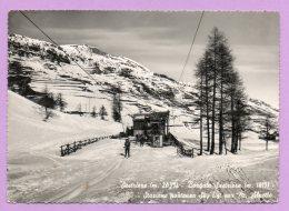 Sestriere - Borgata Sestriere - Stazione Partenza Sky Lift Per M. Alpette - Italy