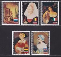 HAUTE-VOLTA AERIENS N°  145 à 149 ** MNH Neufs Sans Charnière, TB (D6686) Tableaux Divers - Upper Volta (1958-1984)