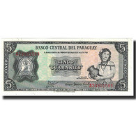 Billet, Paraguay, 5 Guaranies, 1963, KM:195a, NEUF - Paraguay
