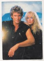Germany Old Uncirculated Postcard - Movie Stars - David Hasselhoff - Acteurs