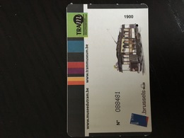 Brochure & Tickets Trammuseum Brussels  - Subway Bus Tram - Mondo