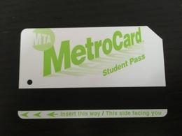 Ticket De Métro New York - Metropolitana