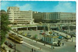 Bruxelles  Carrefour  De  L'europe Avec Sabena Et Gare Centrale  Tram - Belgique