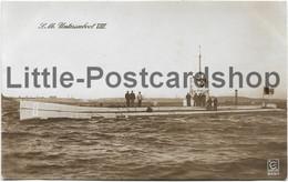 Foto AK SM Unterseeboot VIII Ca. 1915 Kaiserliche Marine Uboot - Guerra 1914-18