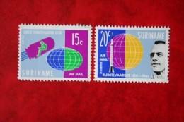 Ruimtevaart Luchtpostzegels Airmail  NVPH Nr: LP33-LP34 ; 1961 POSTFRIS MNH ** SURINAME / SURINAM - Surinam ... - 1975