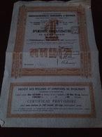 Socièté Des Ateliers Et Chantiers De Nicolaieff 1913 - Rusland