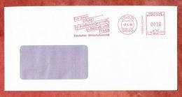 Infopost, Hasler C56-4225, Deutscher Wirtschaftsdienst, 38 Pfg, Koeln 1990 (49709) - [7] West-Duitsland