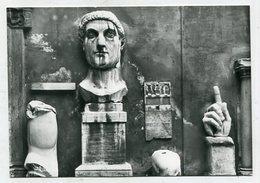 ITALY - AK 320911 Roma - Musei Capitolini - Frammenti Della Statua Colossale Di Costantio - Musées