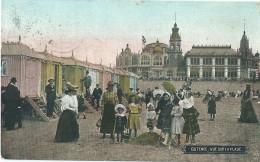 Ostende - Oostende - Ostend - Vue Sur La Plage - 1910 - Oostende