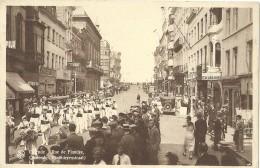 Ostende - Oostende - Ostend - Rue De Flandre - Vlaanderenstraat - Nels Série 13 N° 104 - 1937 - Oostende