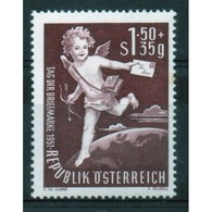 Austria Stamp Issued To Celebrate Stamp Day.  This Stamp Is In Mounted Mint Condition. - 1945-60 Unused Stamps