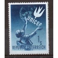 Austria Stamp Issued To Celebrate UN International Children's Emergency Fund. - 1945-60 Unused Stamps