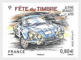 France 2018 - Stamp Day 2018 - Alpine Renault A110 Mnh - Frankrijk