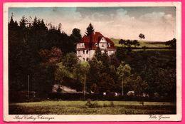 Bad Colberg - Thüringen - Villa Greiner - Oblit. BAD COLBERG UBER Kr. HILDBURGHAUSSEN - 1935 - ADOLF GÜNTHER - Bad Colberg-Heldberg