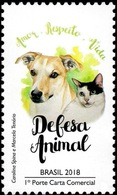 BRAZIL 2018  -  ANIMAL DEFENSE  -  MINT - Brazil