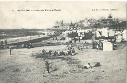 Ostende - Oostende - Ostend - 24 - Bains Du Palace Hôtel - Le Bon éditeur, Ostende - Oostende