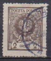POLONIA  1925 FRANCOBOLLI CON NUOVO VALORE YVERT. 288 USATO VF - Usati