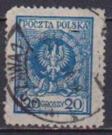 POLONIA  1925 FRANCOBOLLI CON NUOVO VALORE YVERT. 293 USATO VF - Usati