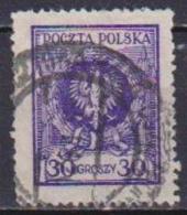 POLONIA  1925 FRANCOBOLLI CON NUOVO VALORE YVERT. 295 USATO VF - Usati