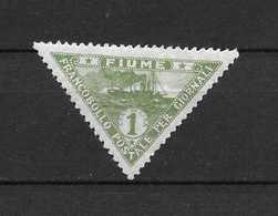 LOTE 1706   /////  (C015)    ITALIA   FIUME   YVERT Nº:  2   POUR JOURNAUX - 8. Ocupación 1ra Guerra