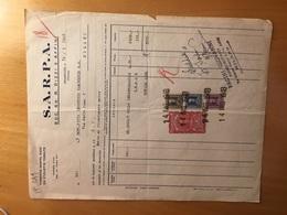BRANDIZZO-TORINO-14-5-1948-DITTA S.A.R.P.A.-15-5-1948-VALORI FISCALI - Italia