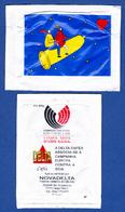 Cafés Delta, Portugal - Luta Contra A Sida / Fight Against AIDS - Antigo/ Old - Sugars