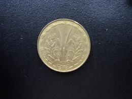 ÉTATS DE L'AFRIQUE DE L'OUEST : 5 FRANCS  1978    KM 2a    SUP - Monnaies