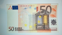 EURO-GERMANY 50 EURO (X) R015 Sign DUISENBERG - EURO