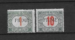 LOTE 1706   /////  (C030)    ITALIA   FIUME - 8. WW I Occupation