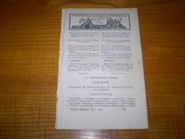 Lois An X:Justices De Paix Du Haut Rhin,Porrentruy,Delémont.. Ourthe,Malmédy,Huy... Deux Nèthes,Turnhout,Malines,Anvers. - Decreti & Leggi