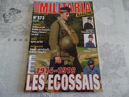 ARMES MILITARIA MAGAZINE N°273. 1914-1918 LES ECOSSAIS - Uniforms