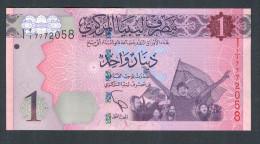 LIBIA (LIBYA) :  1 Dinar - 2013 – NEW- FDS - Libia