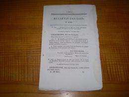 1839 : Nomin.  Barthe Pdt Cour Des Comptes. Comte De Montalivet , Comte De Bondy à La Liste Civile - Decreti & Leggi