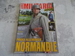 ARMES MILITARIA MAGAZINE N°275. PARAS ALLEMANDS NORMANDIE - Uniforms
