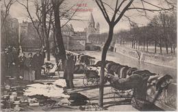 57 - METZ - MARCHE AUX PUCES - CARTE RARE - Metz