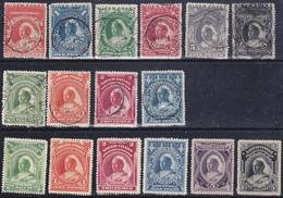 Nigeria Niger Coast Protectorate 1894 -97 Gibbons 45-50,66-69,timbrati, 66-70,72 MLH * - Nigeria (...-1960)