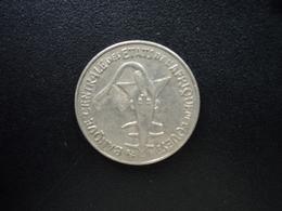 ÉTATS DE L'AFRIQUE DE L'OUEST : 50 FRANCS  1987   KM 6   SUP - Monnaies