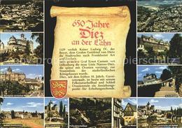 72133053 Diez Lahn Wilhelm Von Nassau Kaserne Marktplatz Schloss Schaumburg Mark - Diez